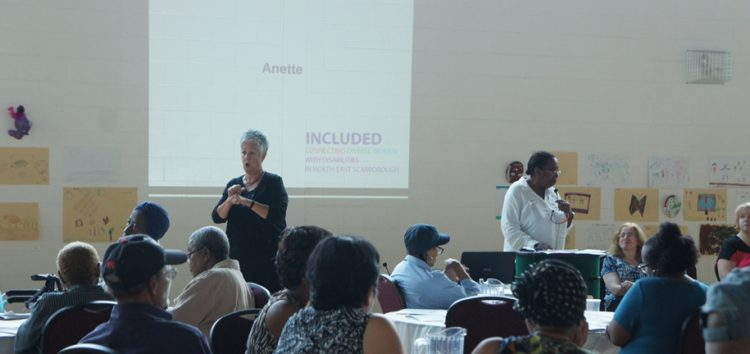 INCLUDED Project Participant Anette speaking about her experiences in the INCLUDED Project
