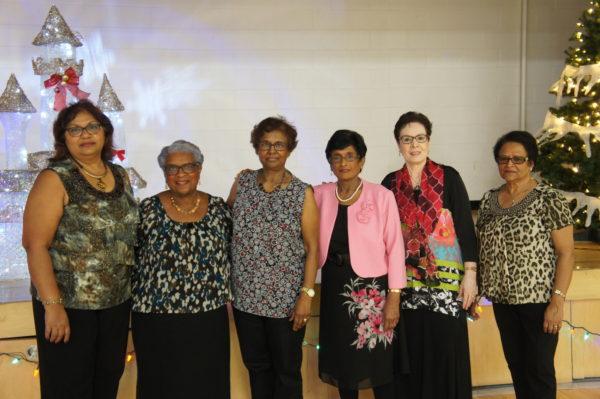 Group photo of female seniors