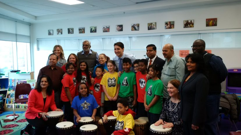Prime Minister Trudeau & MYC